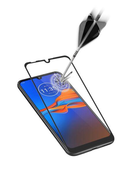 Закалено стъкло за Moto E6 Plus, Черно