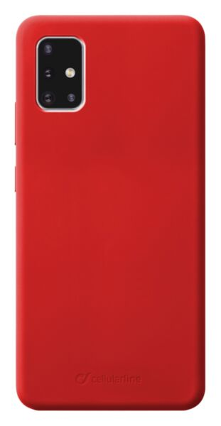 Луксозен калъф Sensation за Samsung Galaxy A71, Червен