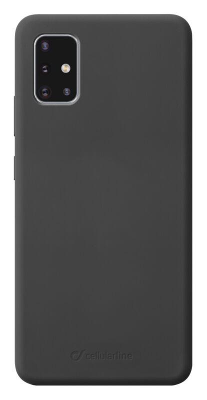 Луксозен калъф Sensation за Samsung Galaxy A71, Черен