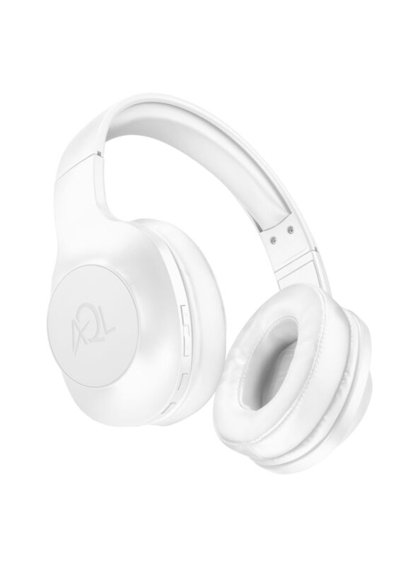Bluetooth стерео слушалки Astros AQL, Бели