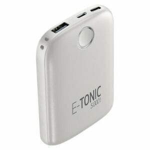 Външна батерия E-tonic HD 5000mAh, Бяла