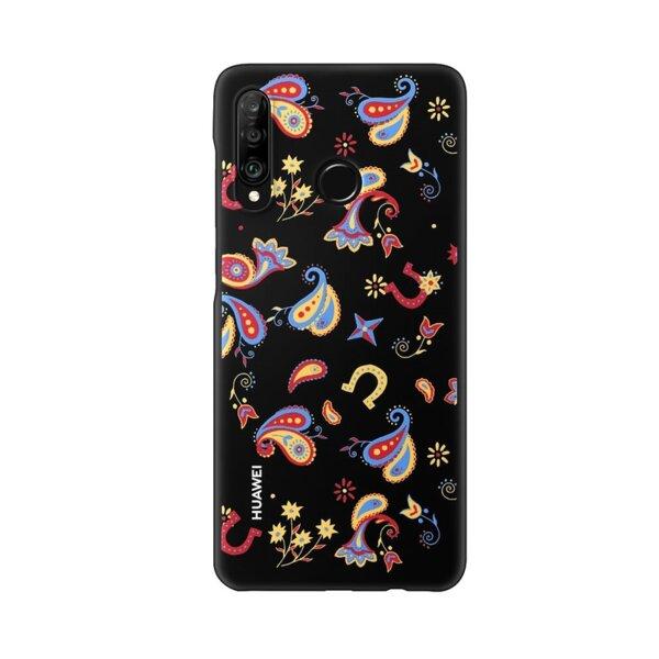 Оригинален калъф Huawei за P30 Lite, Цветя