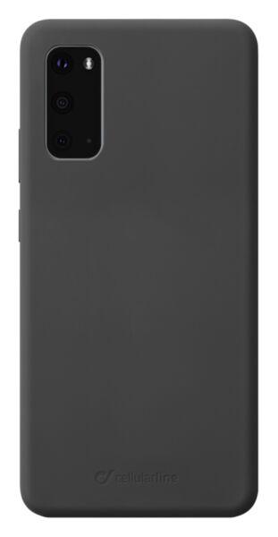 Матов калъф Sensation за Samsung Galaxy S20, Черен