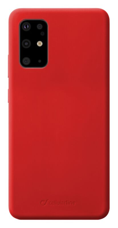 Луксозен калъф Sensation за Samsung Galaxy S20 Plus, Червен