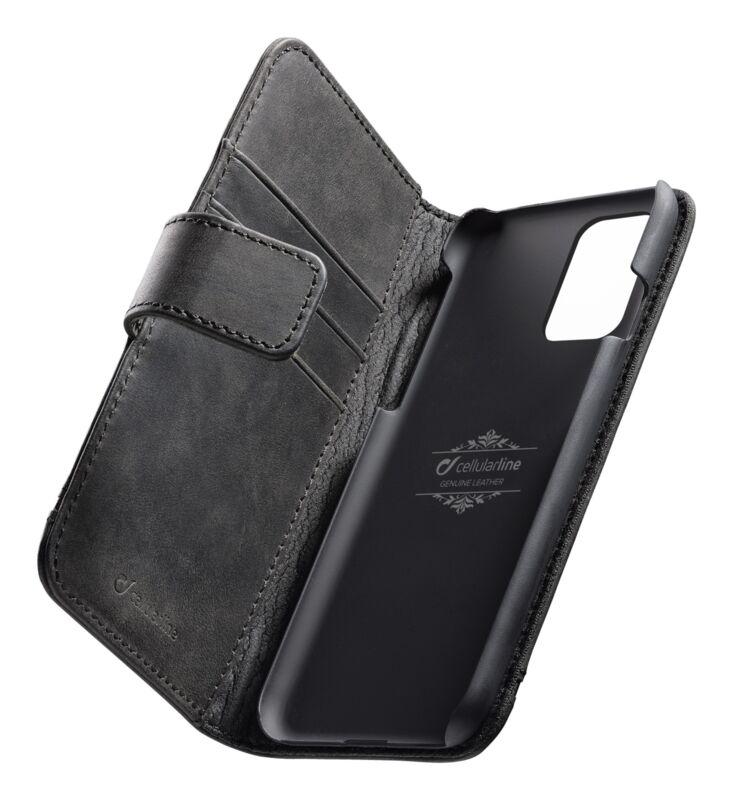 Кожен калъф Book Supreme за Samsung Galaxy S20 Plus, Черен