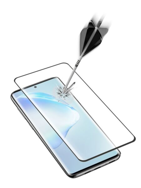 Закалено 3D стъкло за Samsung Galaxy S20 Plus, Черно