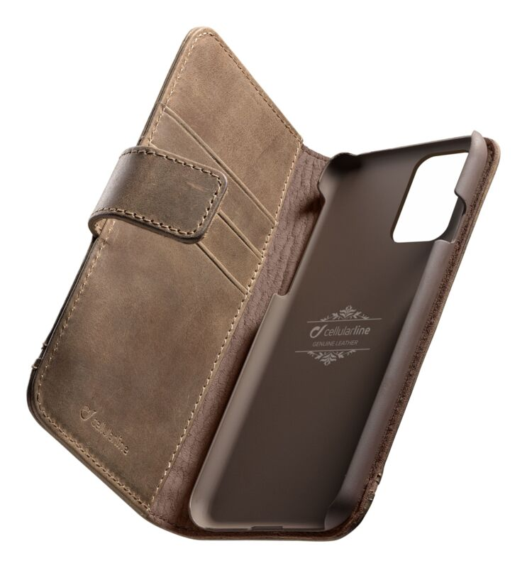 Калъф Book Supreme за Samsung Galaxy S20 Plus, Кафяв, Естествена кожа