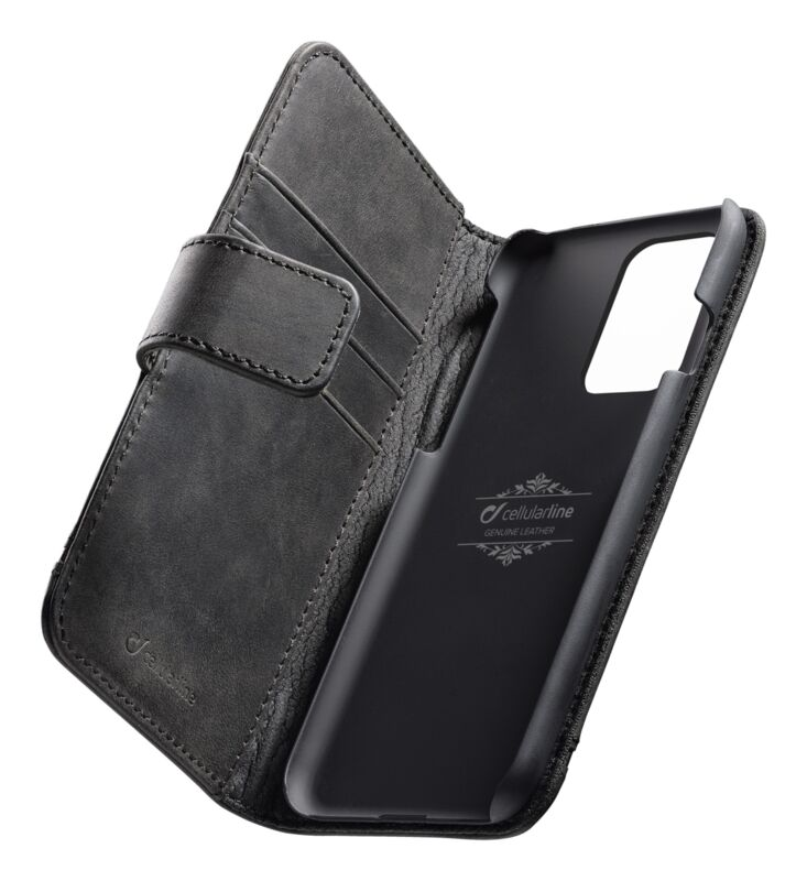 Кожен калъф Book Supreme за Samsung Galaxy S20 Ultra, Черен