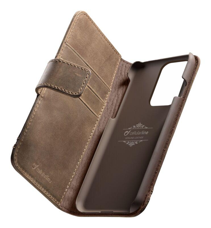 Кожен калъф Book Supreme за Samsung Galaxy S20 Ultra, Кафяв