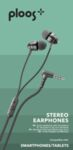 Слушалки с кабел 3.5мм и микрофон Ploos, Черни