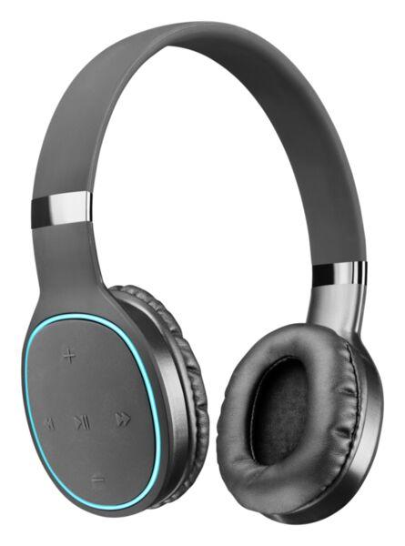 Bluetooth слушалки Kosmos 2 AQL, Черни