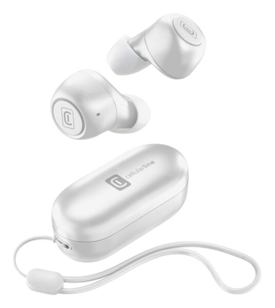 Bluetooth слушалки Pick, TWS, Бели