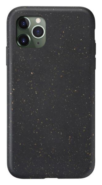 Еко калъф Become за iPhone 11 Pro, Черен