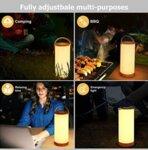 LED лампа презареждаща се TaoTronics DL071 110 часа