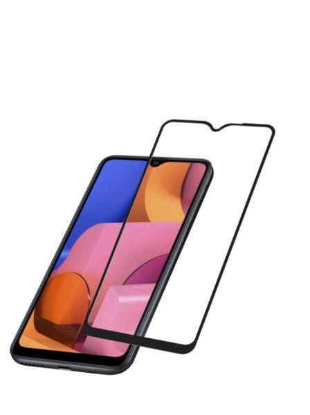 Закалено 3D стъкло за Samsung Galaxy A20s, Черно