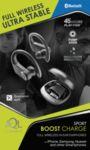 Спортни Bluetooth слушалки Boost, Черни