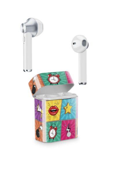 Bluetooth слушалки с кейс Music Sound, Mix, TWS