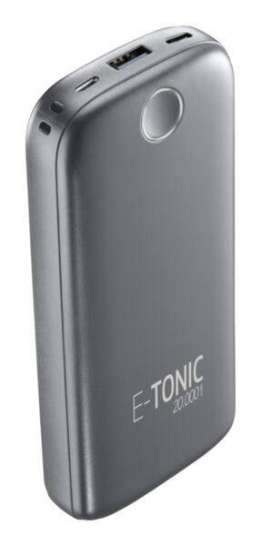 Външна батерия E-tonic HD 20000mAh, Черна