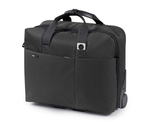 """Чанта за пътуване Lexon Apollo, 17"""", Сива"""
