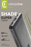 Външна батерия Shade, 10000mAh, Черна