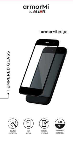 Закалено стъкло armorMi 3D за Huawei Mate 40 Pro, Черно