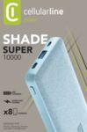 Външна батерия Shade 10000mAh, Светло синя