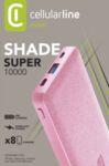 Външна батерия Shade 10000mAh, Розова