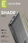 Външна батерия Shade 5000 mAh, Черна
