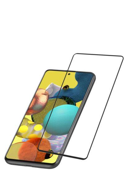 Закален протектор за Samsung Galaxy A52, Черен
