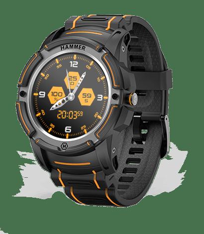 Смартчасовник Hammer Smartwatch, Черен