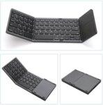 Сгъваема Bluetooth клавиатура с Touchpad