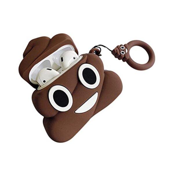Bluetooth слушалки TWS Emoji Poop