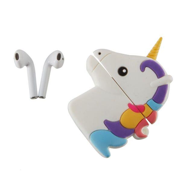 Bluetooth детски слушалки TWS Emoji Unicorn