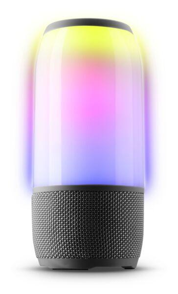 Bluetooth колона Music Sound Fluid LED, Черна