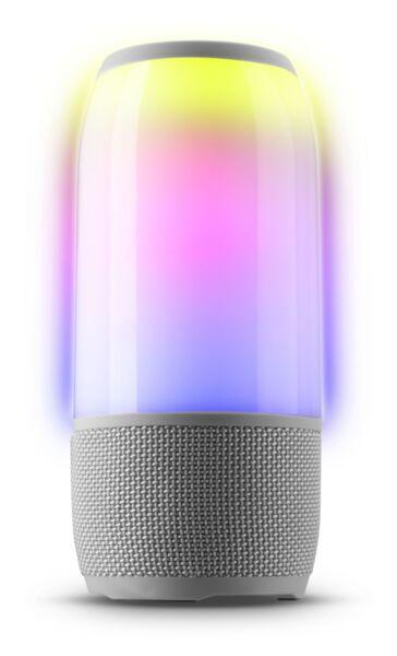 Bluetooth колона Music Sound Fluid LED, Сива