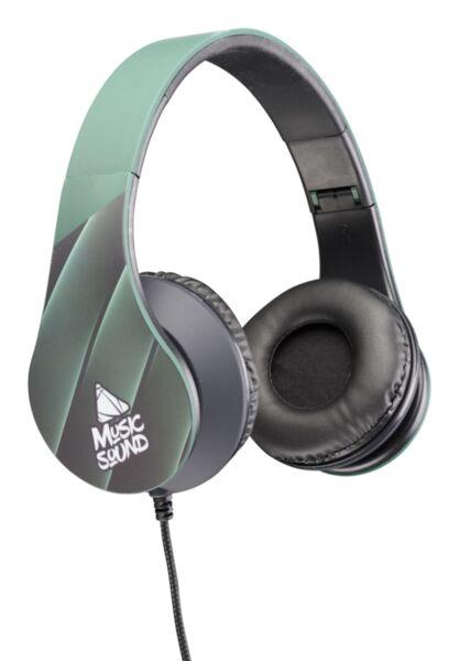 Стерео слушалки Music Sound 2021 Neon
