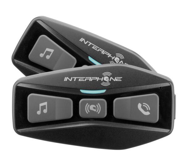 Bluetooth хедсет пакет UCOM2 за каска Intercom до 600м и 2 у-ва, 2бр