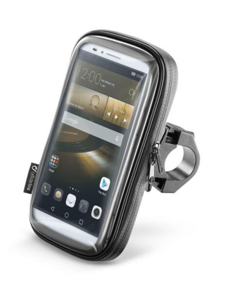 """Универсална стойка за ръкохватка до 30мм и телефони до 6.5"""""""