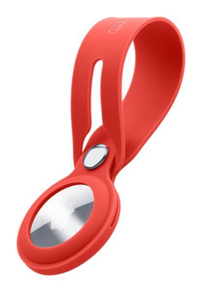 Силиконова каишка Loop за Apple AirTag, Червена