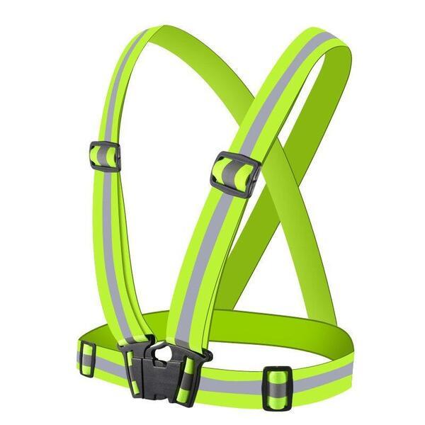 Светлоотразителен колан Hurtel Vest, зелен