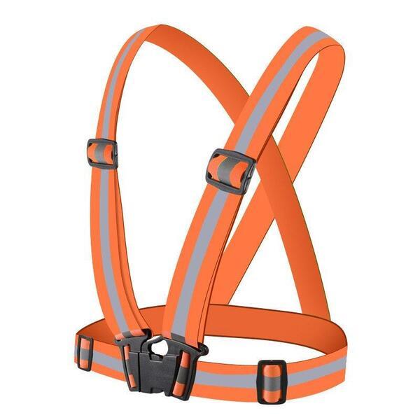 Светлоотразителен колан Hurtel Vest, оранжев