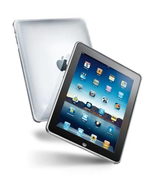 Прозрачен, твърд калъф за iPad