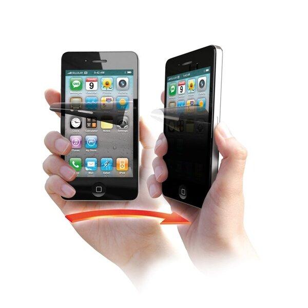 Предпазно фолио за iPhone 4/4S със скриващ ефект