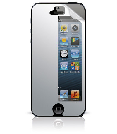 Огледално предпазно фолио за iPhone 5/5S/5C/5E