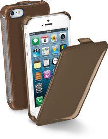 Flap калъф полиран за iPhone 5/5S/SE в четири цвята
