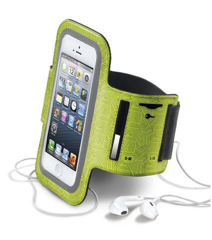 Спортен калъф Armband за iPhone 5/5S/5C/5SE, Жълт