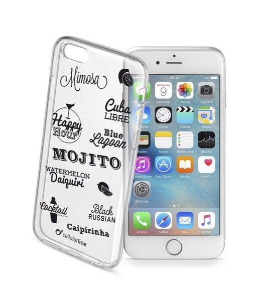 Полупрозрачен гумен калъф за iPhone 6S/6