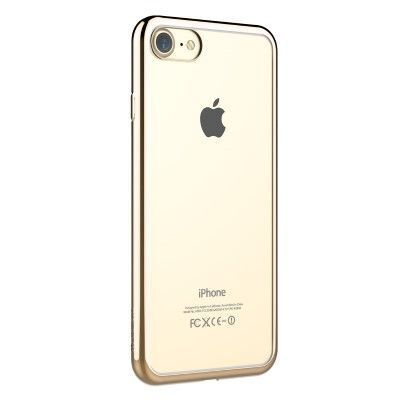 Калъф Glitter за iPhone 8/7, Champagne Gold