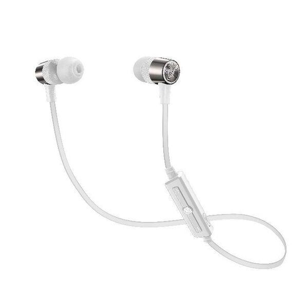 Bluetooth Стерео Слушалки JUNGLE, Бели