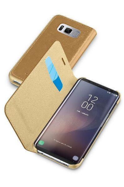 Кожен Book калъф за Samsung Galaxy S8